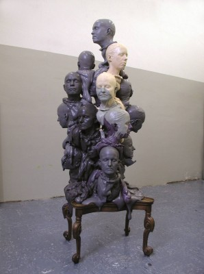 "Maya Bringolf – Skulptur ""Crowd"""